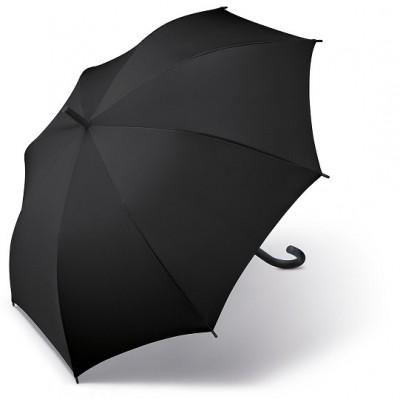 Černý partnerský deštník Golf Polo Gent 74867