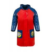 Červeno-modrá dětská pláštěnka vel. 98 cm Danny 4A 2016
