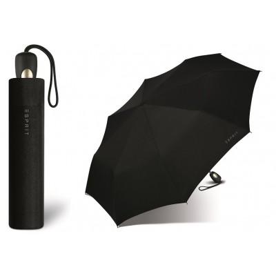 Pánský černý vystřelovací deštník Esprit Gents Mini Tecmatic 50351