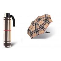 Deštník Alu light odlehčený 32020 camel