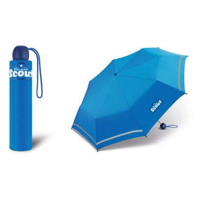 Chlapecký skládací deštník Scout - Basic Grey