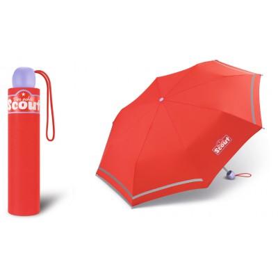 Chlapecký skládací deštník Scout - Basic Red