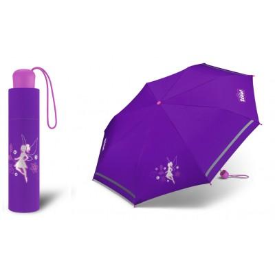 Dívčí skládací deštník Scout - Stříbrná víla