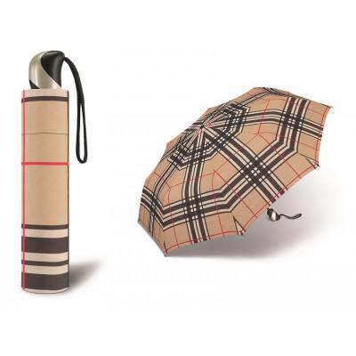 Plně automatický odlehčený deštník  červená růže POŠTOVNÉ ZDARMA