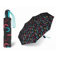 plně automatický odlehčený deštník Esprit Easymatic Light Letterjam černý