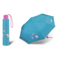 Dívčí skládací deštník Scout - Dolphins
