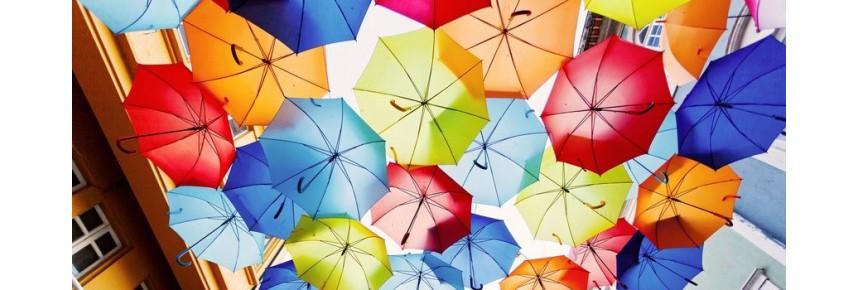 Deštníky -  značky